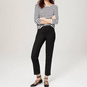 Loft black riviera pants in Julie fit